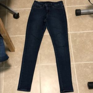 Uniqlo High Rose Skinny Jeans Size 26x32